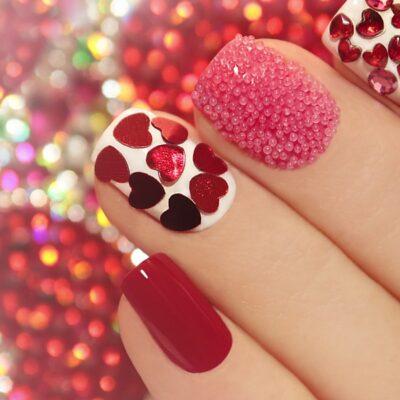 Nail Art Image- red nails