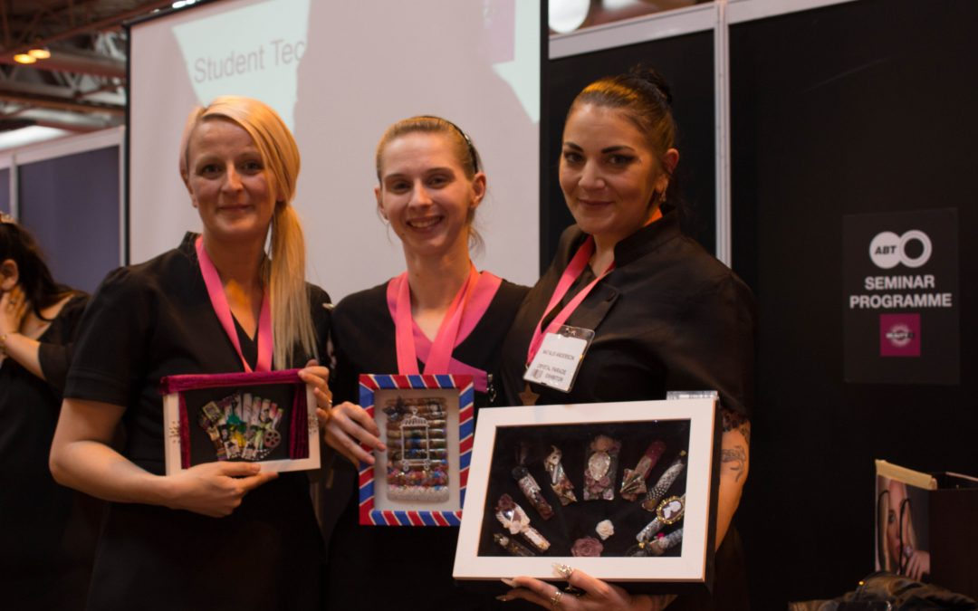 Students Nail It Again at UK Nail Tech UK