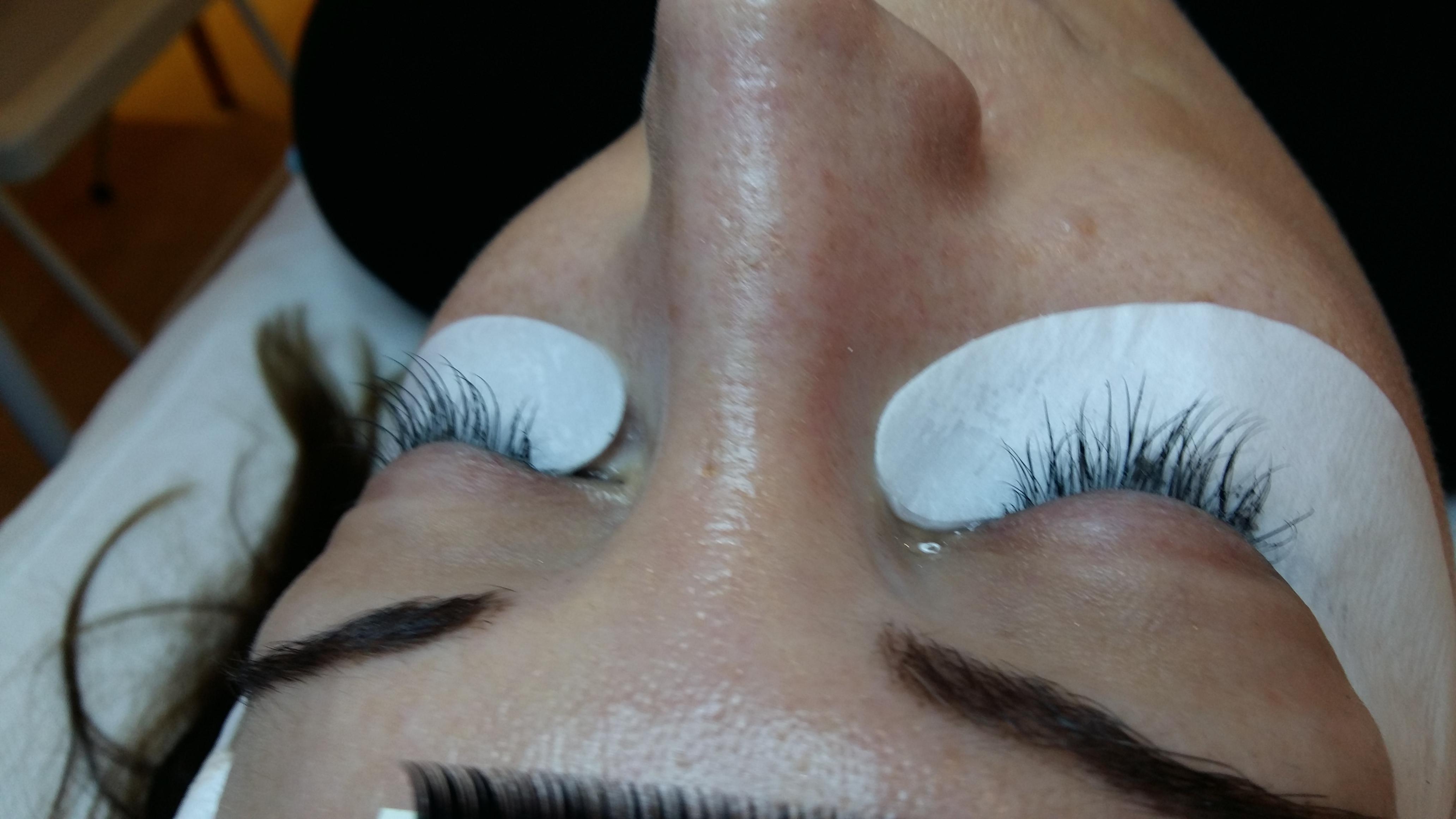 Mink Semi Permanent Lashes West Midlands Nail Beauty Academy