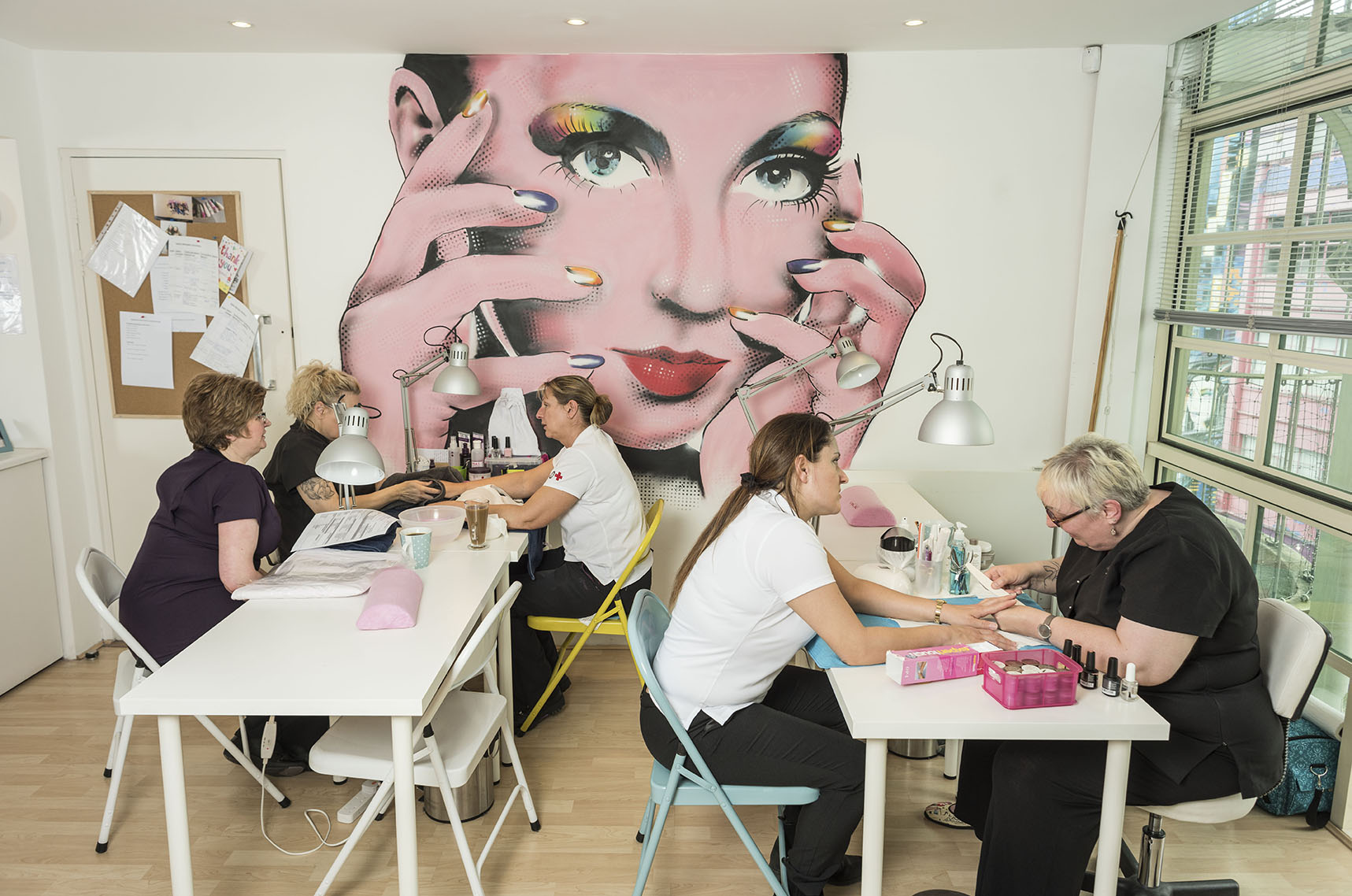 West Midlands Nail and Beauty Academy at The Custard Factory.
